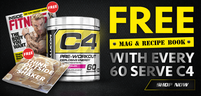 Cellucor C4 - FREE Magazine & Recipe Book!