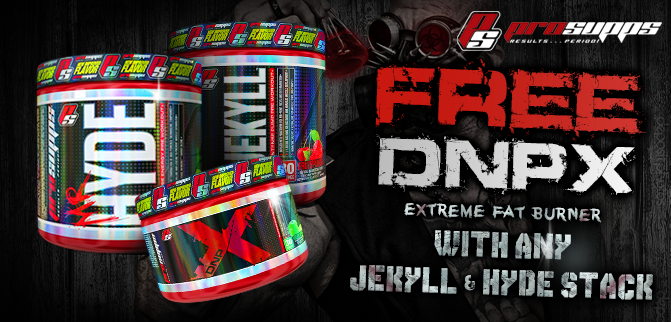 Pro Supps - FREE DNPX With Every Jekyll & Hyde Stack