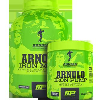 Arnold Iron Mass Pump Stack
