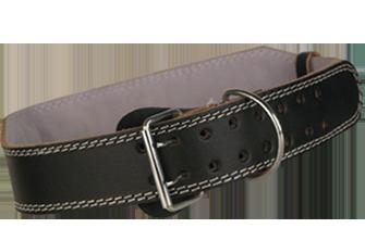Bronx Leather 2 Prong Belt