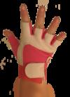 Bronx Pink Spandex Glove