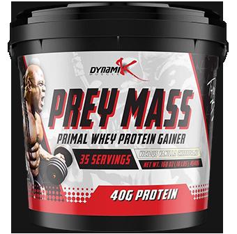 Dynamik Muscle Prey Mass
