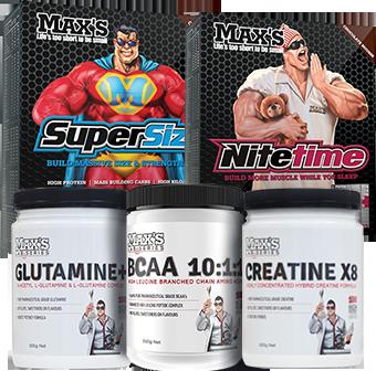 Max's Build Size Premium Pack