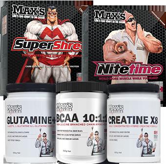Max's Shred Premium Pack
