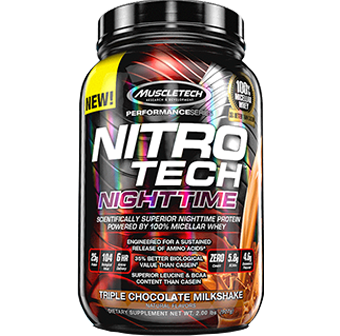 MuscleTech Nitro Tech Nighttime