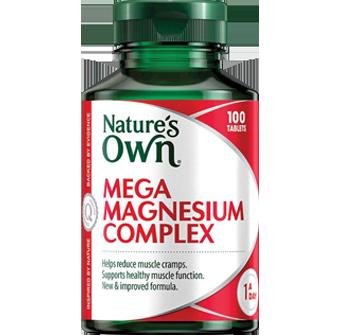 Nature's Own Mega Magnesium Complex