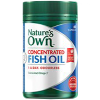 Natures Own Concentrated Fish Oil