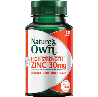 Natures Own High Strength Zinc