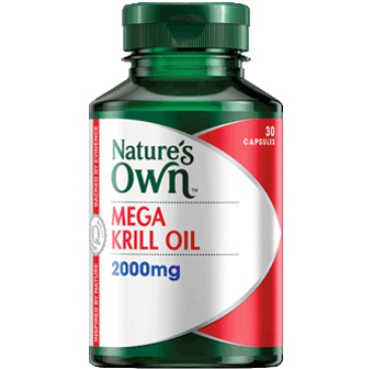 Natures Own Mega Krill Oil