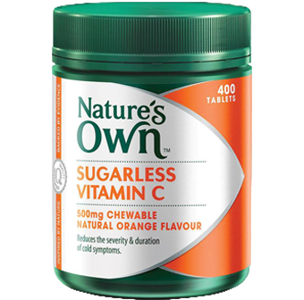 Natures Own Sugarless Vitamin C