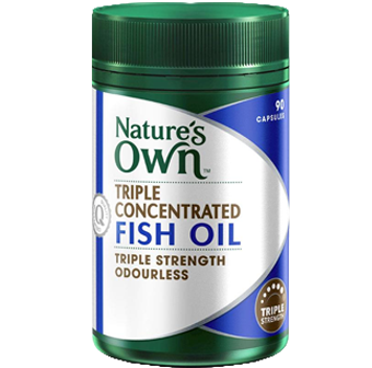 Natures Own Triple Concentrated Fish Oil
