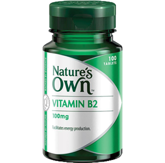 Natures Own Vitamin B2