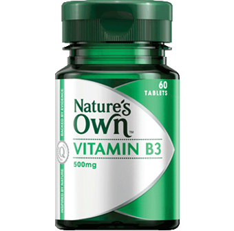 Natures Own Vitamin B3