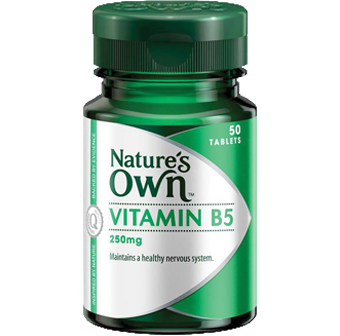 Natures Own Vitamin B5