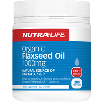 Nutra-Life Organic Flaxseed Oil