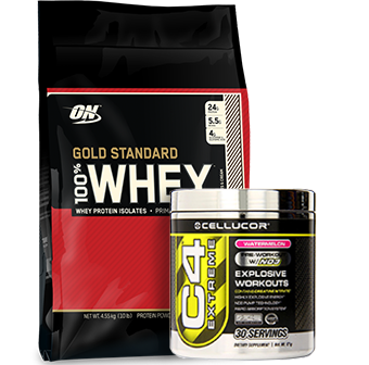 Optimum Gold Standard Whey C4 Extreme Stack