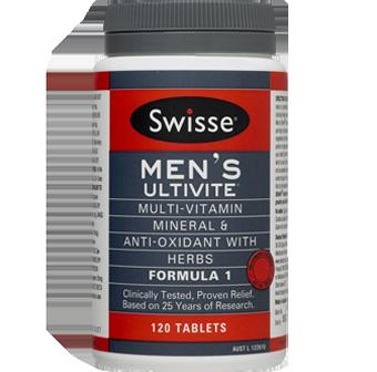 Swisse Mens Ultivite F1