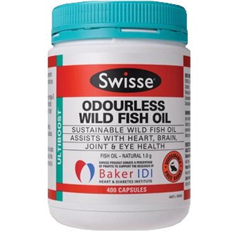 Swisse Odourless Wild Fish Oil