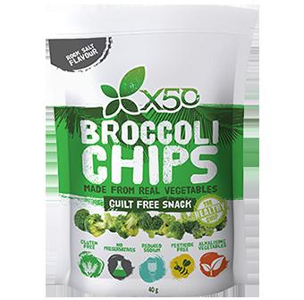 X50 Broccoli Chips
