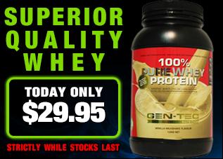Gen-tec 100% Pure Whey