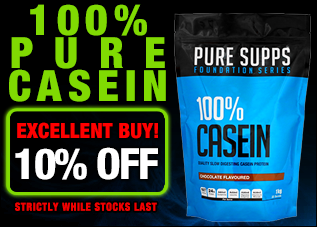 Pure Supps 100% Casein