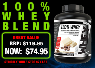 Giant Sports 100% Whey 2.3kg