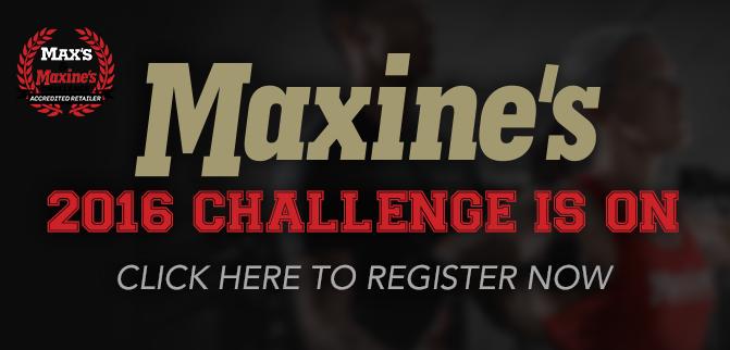 Maxine's 2016 Challenge Is On