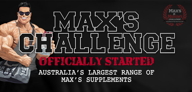 Max's Challenge Officially Started - MrSupplement