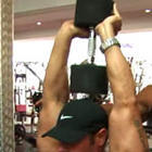 Two Arm Overhead Dumbbell Extension