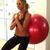 Elaine Alden - Ball Squat