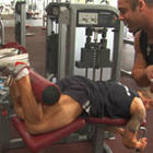 Tri Sets Hamstrings - Glute Bridge & Lying Leg Curl