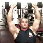 Seated Dumbbell Shoulder Press - Phase 1