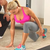 Ladies Dynamic Lunge Hamstring Stretch