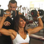 Ladies Dumbbell Shoulder Press