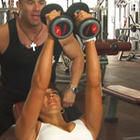 Ladies Incline Dumbbell Flyes