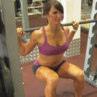Ladies Smith Machine Squat