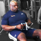 Ronnie Coleman - Seated Cable Row