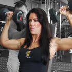 Amanda Latona - Dumbbell Shoulder Press