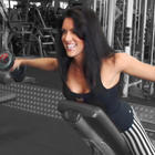 Amanda Latona - Rear Dumbbell Lateral Raise