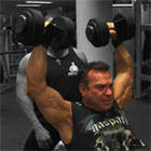 Rich Gaspari - Dumbbell Shoulder Press