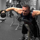 Rich Gaspari - Incline Rear Lateral Dumbbell Raise